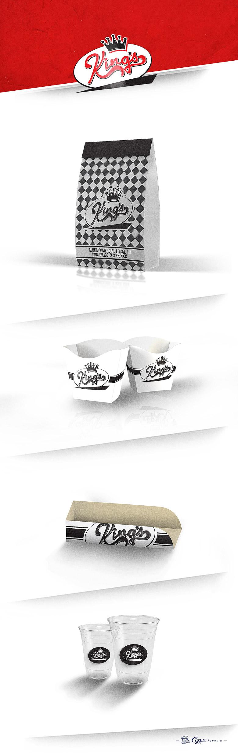 Diseño de empaque Kings