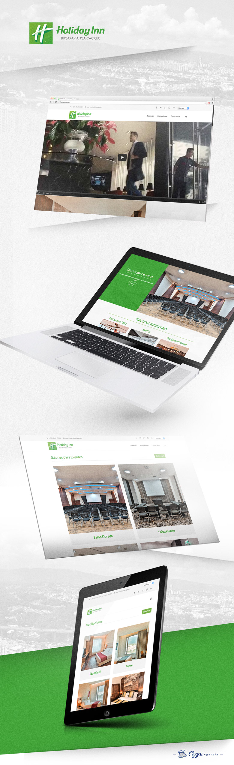 Página web holida inn bucaramanga